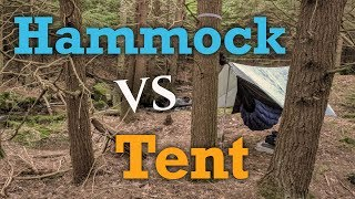 Hammock Vs Tent - Why I DON