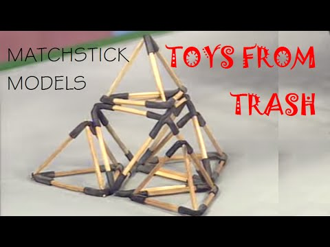LOW-COST SCIENCE EXPERIMENT - MATCHSTICK MODELS - HINDI - ARVIND GUPTA Travel Video