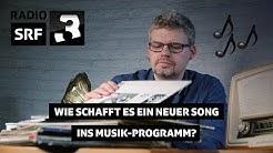 So kommt neue Musik in die Playlist von SRF 3