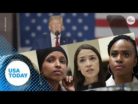 President Trump's 'go back' tweets deemed racist by congresswomen | USA TODAY