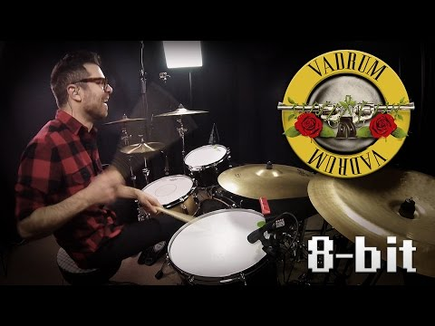 Welcome to the Jungle (8-bit) - Guns N' Roses - Drum Cover Mp3