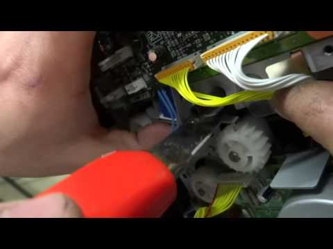 Kyocera FS-1010 FS-1030D FS-1118 versetzter ausdruck Fehlerbehebung.