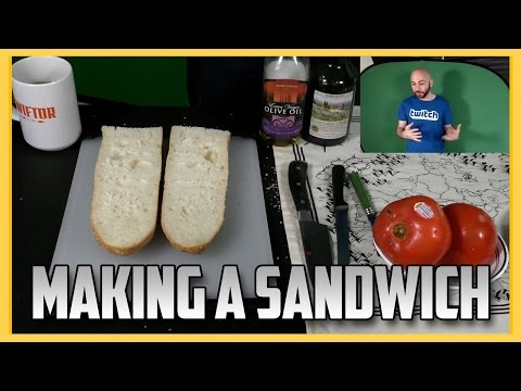 Swiftor Makes A Sandwich In Only 45 Minutes!
