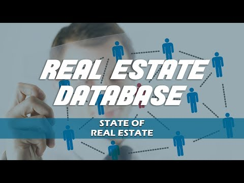 Real Estate Database - State of Real Estate