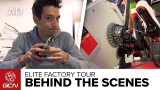 How Smart Turbo Trainers Are Made | GCN's Elite Factory Tour