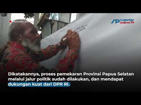 Empat Kepala Daerah Deklarasikan Provinsi Papua Selatan