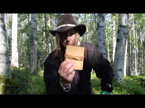 DIY Alaskan Birchbark Journal