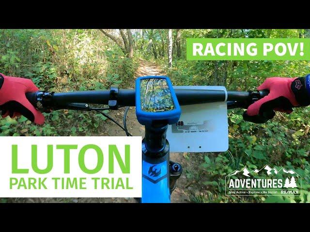 Luton Park Time Trial Mountain Bike Race- Racing POV