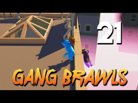 [21] Gang Brawls (Let's Play Gang Beasts w/ GaLm and friends)