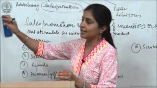 Elements of Marketing Mix 4 Promotion Class XII Business Studies by Ruby Singh