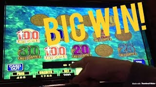 100 FREE GAMES! MAX BET LUCKY FOUNTAIN