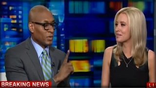 """""""DON'T TOUCH ME!"""" CNN COMMENTATOR FLIPS OUT ON TRUMP SUPPORTER! FULL SNOWFLAKE MELTDOWN!"""
