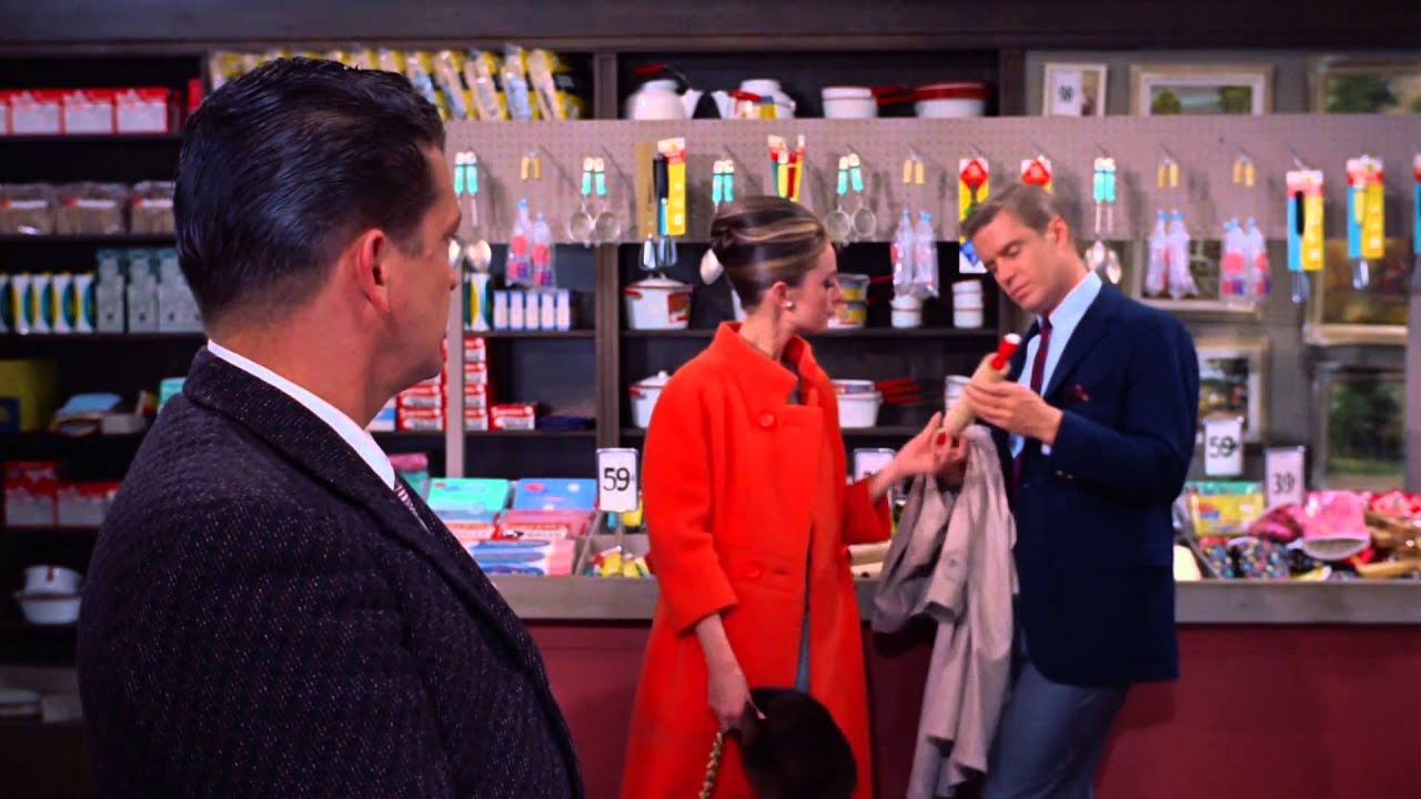Image result for breakfast at tiffany's audrey and george stealing color