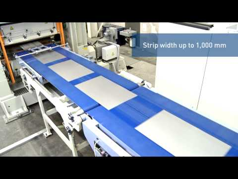 ARKU Cut-to-length line for manufacturing blanks for household appliances ENG
