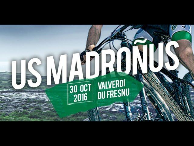 Ruta BTT Us Madroñus, de la AD Valerdeña, en Valverde del Fresno