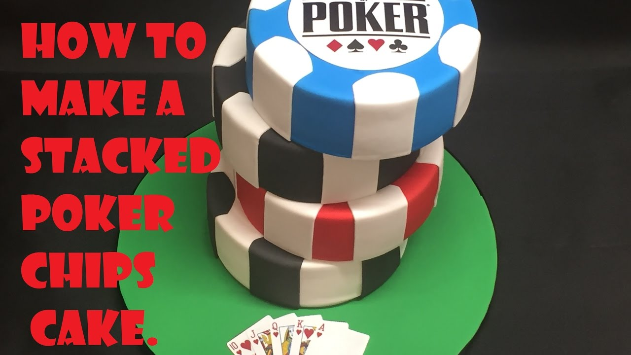 Poker chips cake tutorial - YouTube
