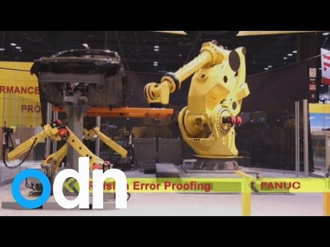 This is the strongest robot in the world and it's broken a world record