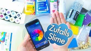 Zufalls-Slime - selber machen | Glücksrad | Spezial