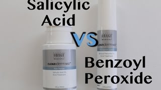 Salicylic Acid vs Benzoyl Peroxide | Clear Pores, Treat Acne...What Do You Need?
