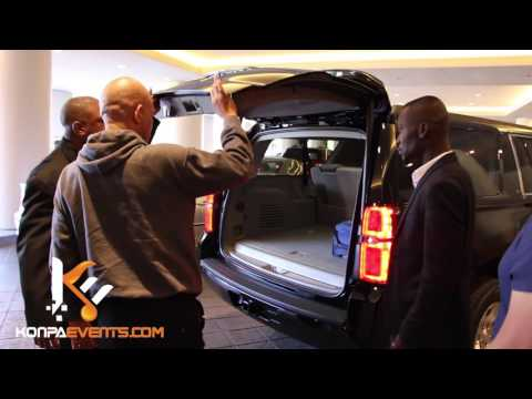 Michel Martelly arriving in CNN Center in Atlanta [ Big Show Tonight ]