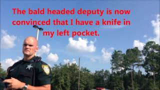 Detained and Illegally Searched For Filming Sheriff