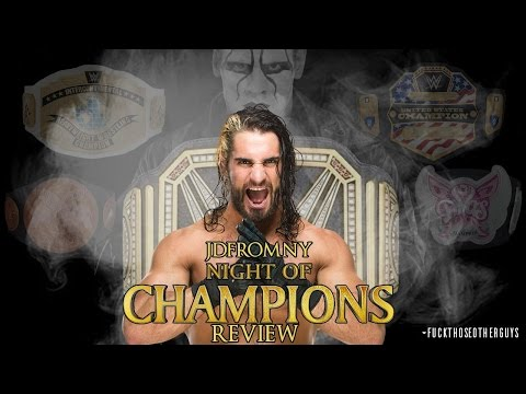 WWE Night Of Champions 2015 9/20/15 Review & Results
