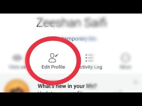 Facebook edit Profile And Change, Profile,Cover photo,Bio,Location Details,Photo Feature,links