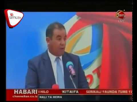 Total Tanzania Port Access Launch -TV News Clip on Channel TEN