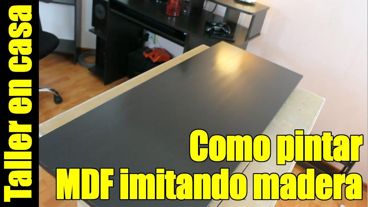 Como pintar MDF en casa (sellar + pintar + lacar) - YouTube