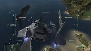 Crysis Wars USA VTOL Gameplay