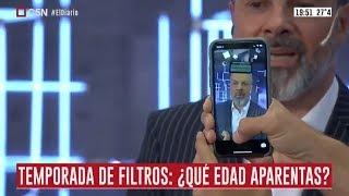 """Temporada de filtros: el divertido momento en """"El Diario"""" con Gustavo Sylvestre como invitado"""