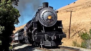 Southern Pacific 2472 - Her Final Day Steaming through Niles Canyon