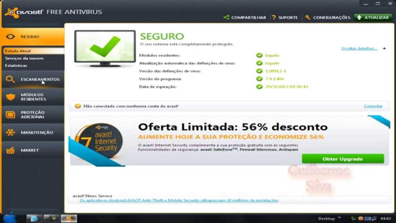 Avast free antivirus 2013