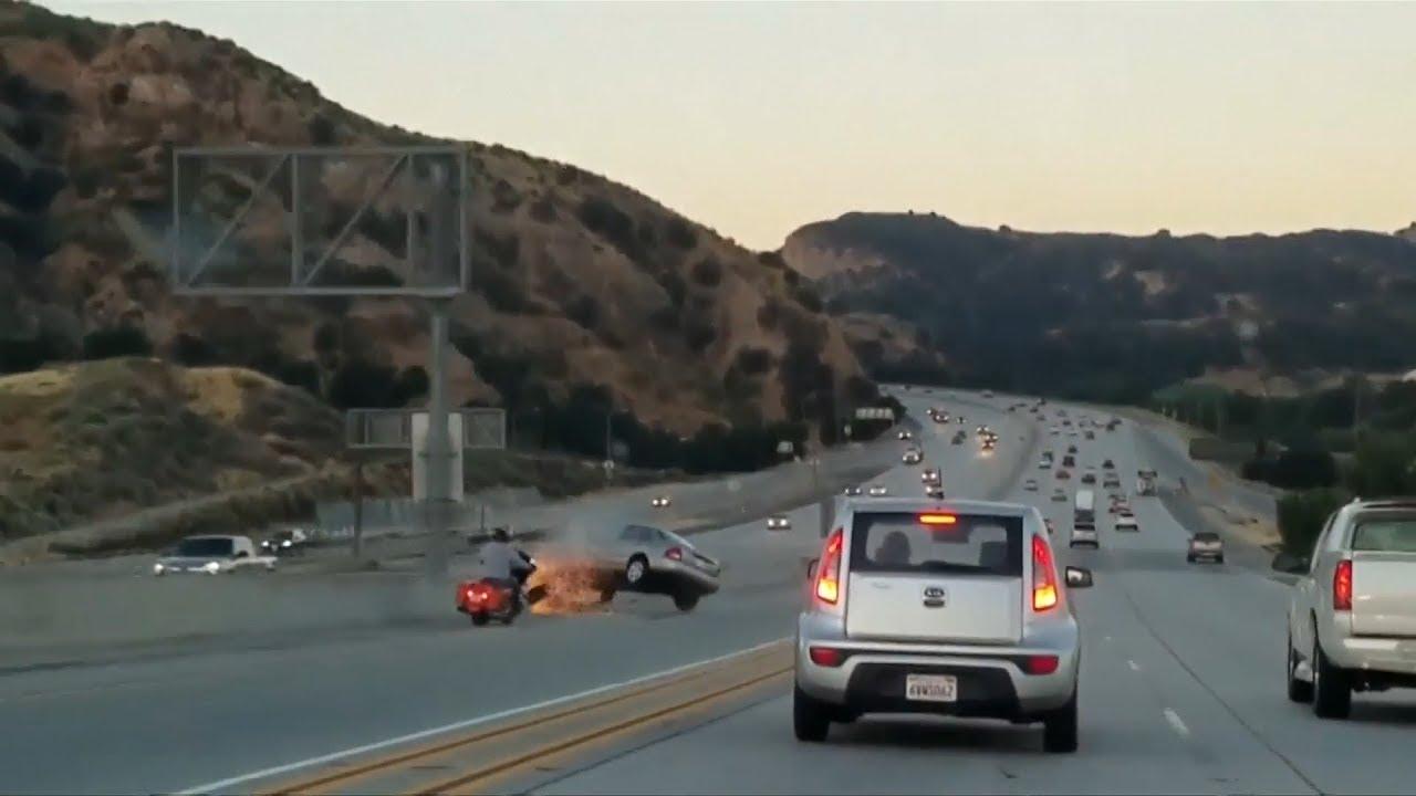 Road Rage Sparks Crash Chaos On La Freeway