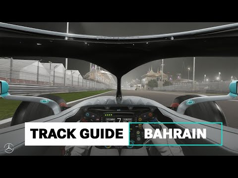 How to Handle a Hot Lap of Bahrain's F1 Track!