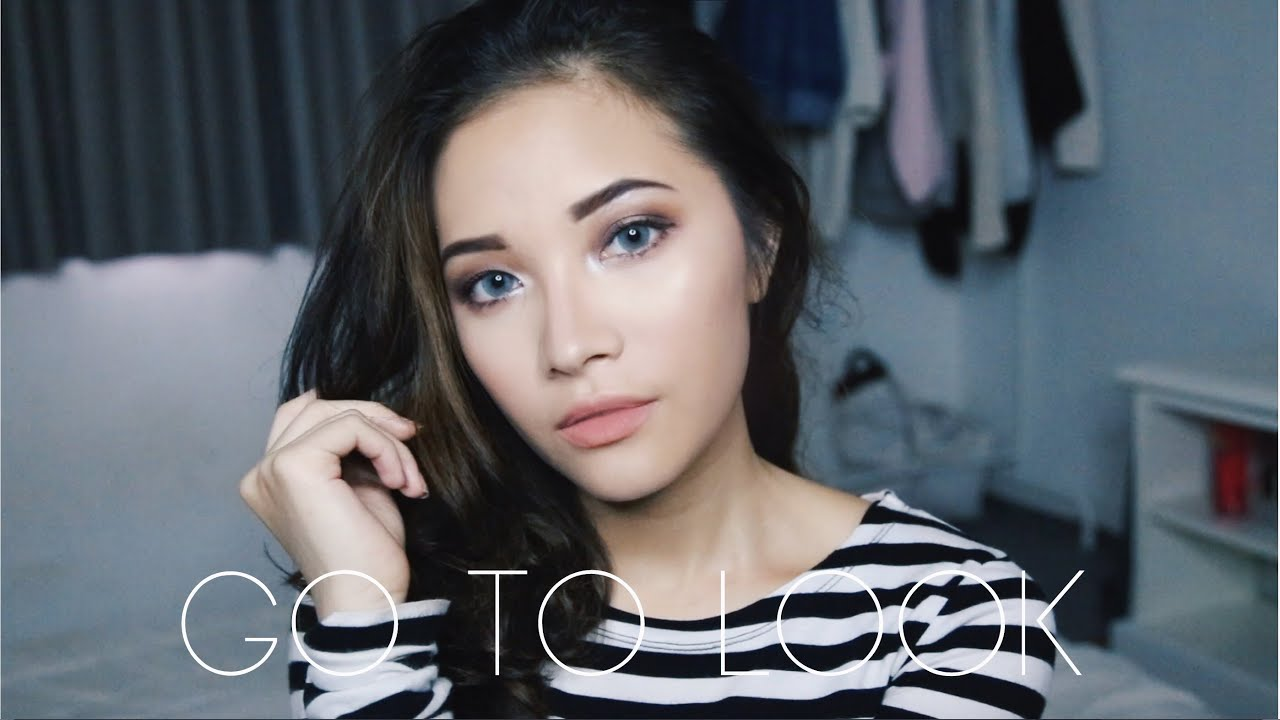 e733cb2e673 Go To Special Occasion Look // Simple Prom Makeup (Without False Lashes)