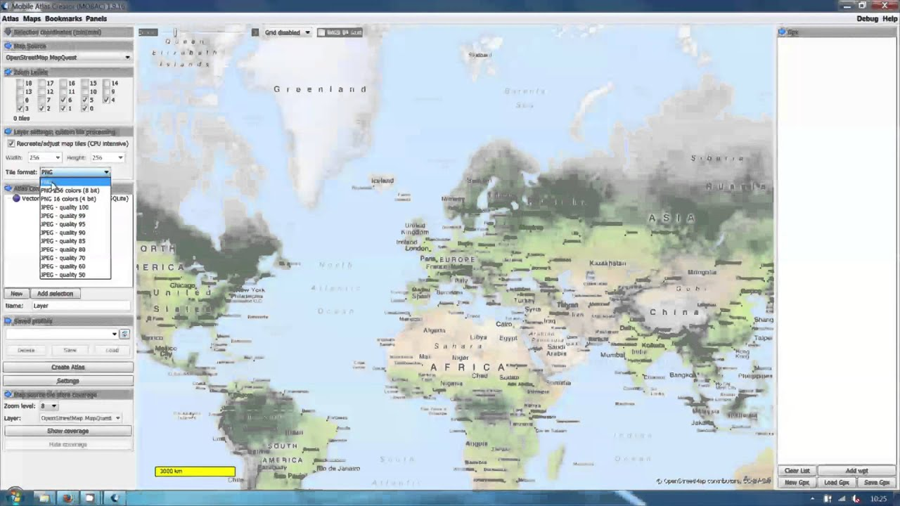 Howto create offline raster maps for the vectorial map app youtube howto create offline raster maps for the vectorial map app gumiabroncs Gallery