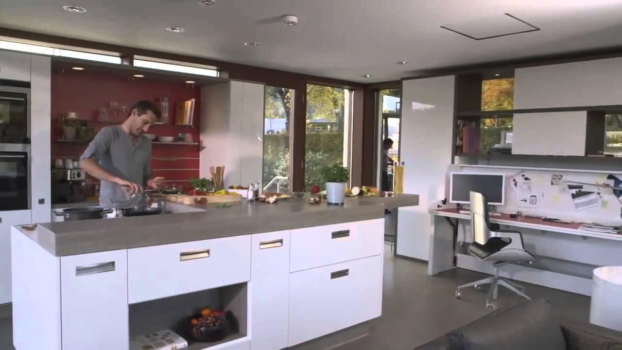 Hafele e Stosa Cucine: colonne ante retraibili - YouTube