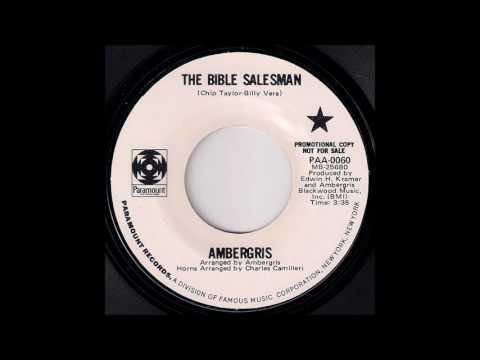 Pop Rock 45: Ambergris - The Bible Salesman [Paramount Records] 1970 Musicdawn 45's