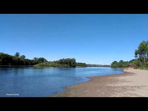 Река Бия.Природа Алтая.Город Бийск.River Biya/Nature Altay/Biysk