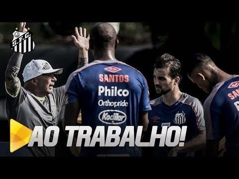 AO TRABALHO: SANTOS SE REAPRESENTA PARA A TEMPORADA 2019