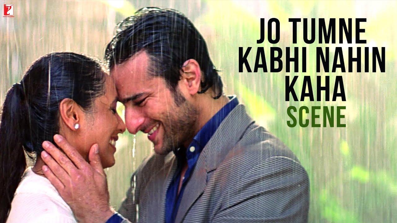 Download Jo Tumne Kabhi Nahin Kaha | Scene | Hum Tum | Saif Ali Khan | Rani Mukerji