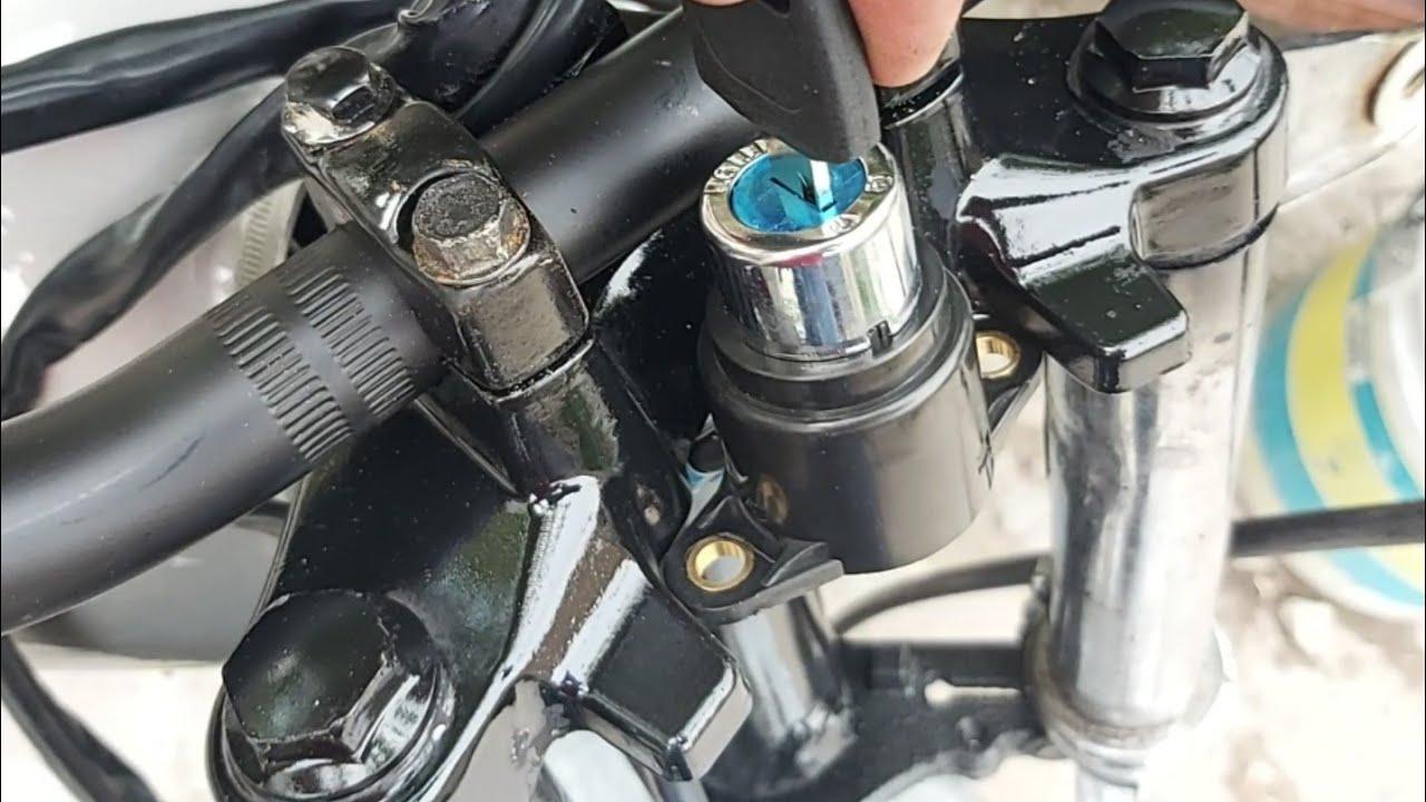 Restauración  de una moto en pesimas condiciones