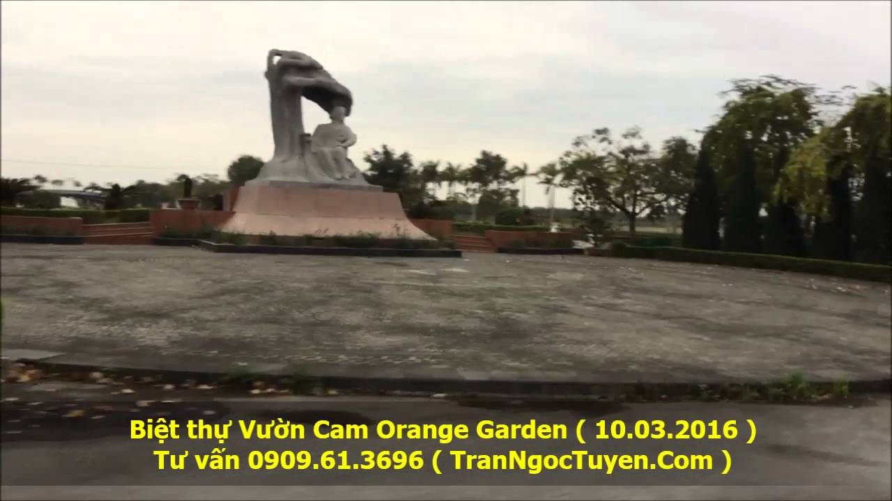Bán biệt thự Vườn Cam Orange Garden Vinapol 2016