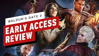 Baldur's Gate 3 Early Access Review (Video Game Video Review)