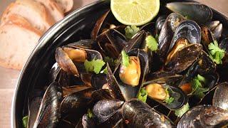 Как готовить морские  мидии. Tрадиционное голландское блюдо