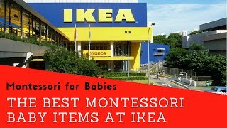 The Best Montessori Baby Items at Ikea