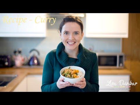 Recipe - Sweet Potato & Chickpea Curry