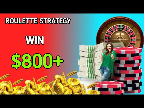 Roulette Strategy   Roulette   Roulette System   Big Win   Roulette Channel Gameplay