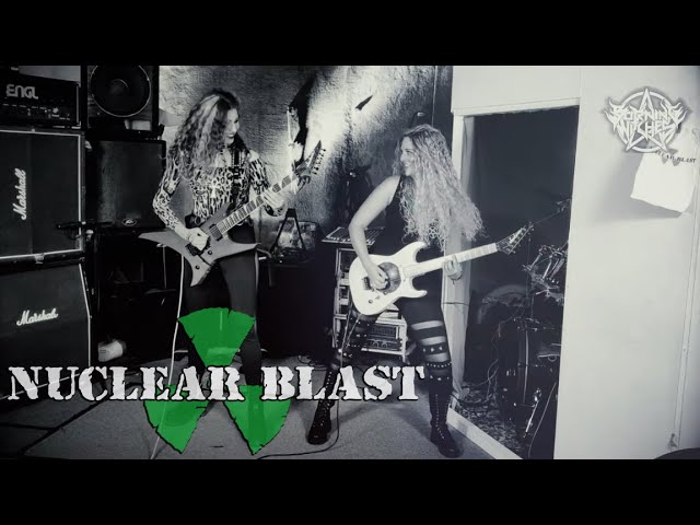 BURNING WITCHES —  Wings Of Steel  (OFFICIAL GUITAR PLAYTHROUGH)